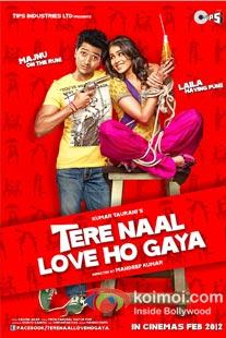 Ritesh Deshmukh, Genelia D'souza in Tere Naal Love Ho Gaya Poster