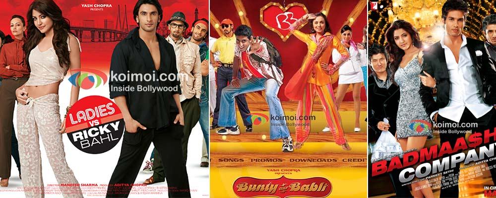 The con artists Ladies Vs Ricky Bahl, Bunty Aur Babli and Badmaash Company