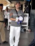 Tusshar Kapoor At Leave For Dubai
