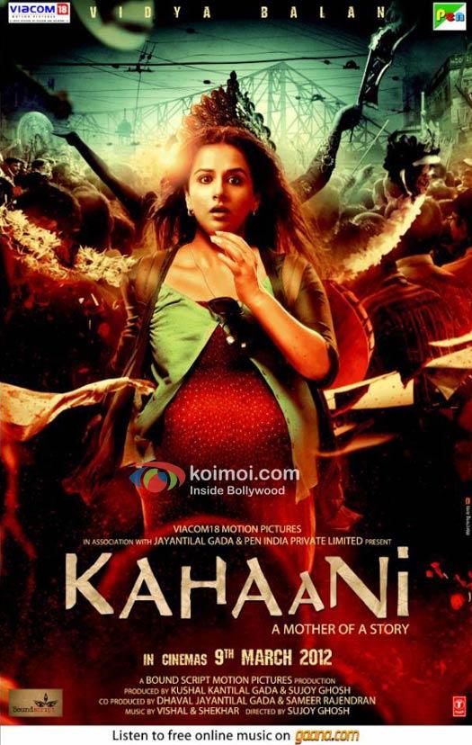 Vidya Balan In Kahaani Poster