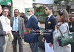 Vijay Mallya, Siddharth Mallya At Casino Royale Race