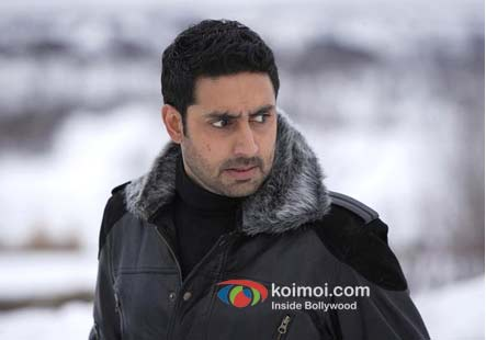 Abhishek Bachchan in a still from Players