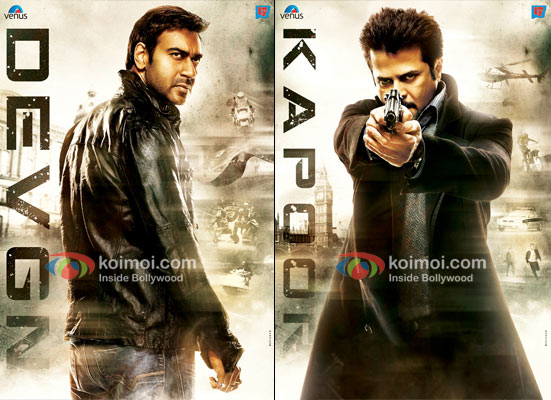 Ajay Devgan And Anil Kapoor In Tezz First Look