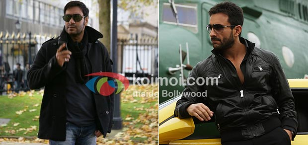 Ajay Devgan in Tezz and Saif Ali Khan in Agent Vinod