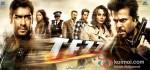 Ajay Devgan, Sameera Reddy, Boman Irani, Zayed Khan, Kangana Ranaut, Anil Kapoor (Tezz Movie Poster)