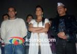 Akshaye Khanna, Mugdha Godse, Annu Kapoor Meet Anna Hazare