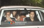 Amitabh Bachchan, Aishwarya Rai Bachchan, Abhishek Bachchan At Oprah Winfrey's Bash