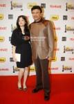 Anu Malik With Wife At The '57th Idea Fimfare Awards 2011'