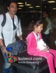 Arjun Rampal Return From Dubai