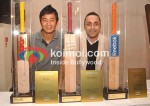 Baichung Bhutia, Rahul Bose At Sports Memorabilia Auction