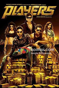 Bipasha Basu, Abhishek Bachchan, Bobby Deol, Neil Nitin Mukesh, Sonam Kapoor in Players