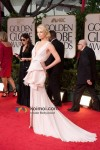Charlize Theron At Golden Globe Red Carpet 2012