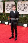 Chris Colfer At Golden Globe Red Carpet 2012