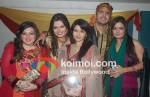 Bhagyashree, Kaishav Arora At Deepshikha Nagpal's Mata Ki Chowki