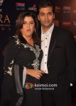 Farah Khan, Karan Johar At Apsara Awards 2012