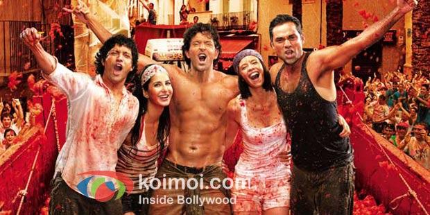 Farhan Akhtar, Katrina Kaif, Hrithik Roshan, Kalki Koechlin, Abhay Deol In Zindagi Na Milegi Dobara