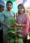 Farhan Akhtar, Shaina NC Plants A Tree