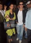 Gauri Khan, Shah Rukh Khan Return From Zee Awards