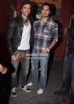 Hrithik Roshan, Dino Morea At Agneepath Screening