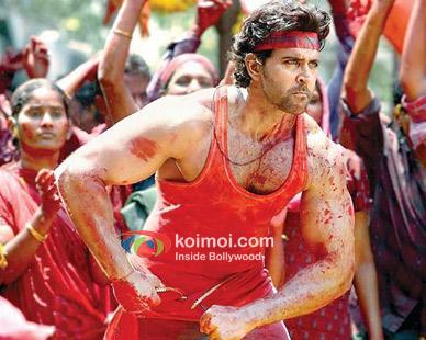 Hrithik Roshan In Agneepath Movie Stills