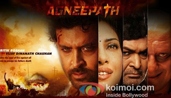Hrithik Roshan, Priyanka Chopra Rishi Kapoor, Sanjay Dutt in Agneepath