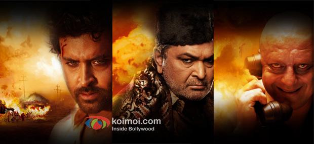 Hrithik Roshan, Rishi Kapoor, Sanjay Dutt In Agneepath