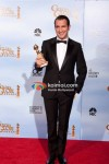 Jean Dujardin At Golden Globe 2012 Winners Portrait
