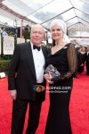 Julian Fellowes At Golden Globe Red Carpet 2012