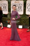 Julianna Margulies At Golden Globe Red Carpet 2012