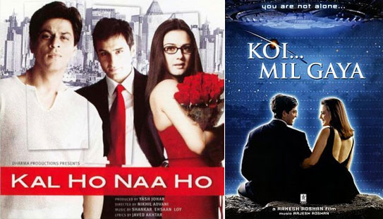 Kal Ho Naa Ho & Koi. Mil Gaya Posters