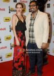 Kalki Kochlin, Anurag Kashyap At The '57th Idea Fimfare Awards 2011'