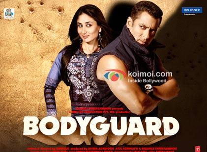 Kareena Kapoor, Salman Kahn in Bodyguard