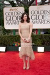 Katharine McPhee At Golden Globe Red Carpet 2012