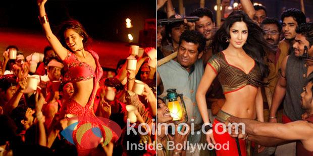 Katrina Kaif in stills from Sheila ki jawani & Chikni Chameli