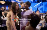 Kristen Wiig and Octavia Spencer At Golden Globe 2012 On Stage