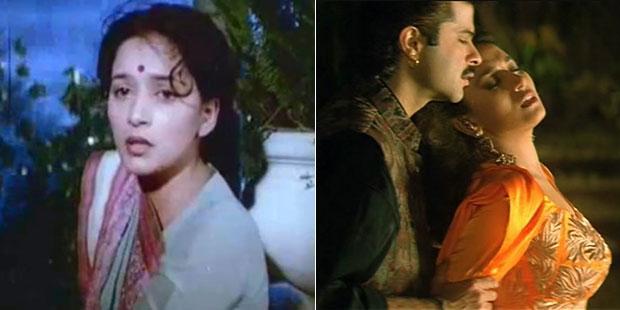 Madhuri Dixit in stills from Abodh movie & Dhak Dhak song