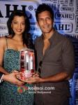 Mugdha Godse, Milind Soman At Launch Wahl