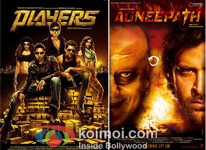 Players and Agneepath Movie posters