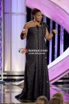 Presenter Queen Latifah At Golden Globe 2012 On Stage