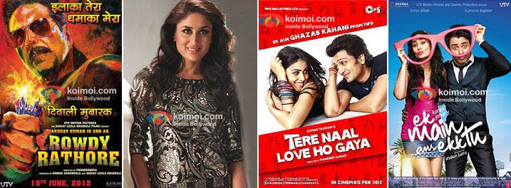 Rowdy Rathore, Heroine, Tere Naal Love Ho Gaya, Ek Main Aur Ekk Tu