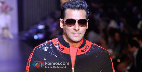 Salman Khan at Being Human event