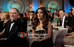 Salma Hayek At Golden Globe 2012 On Stage