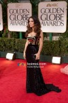 Salma Hayek At Golden Globe Red Carpet 2012