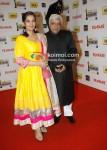 Shabana Azmi, Javed Akhtar At The '57th Idea Fimfare Awards 2011'
