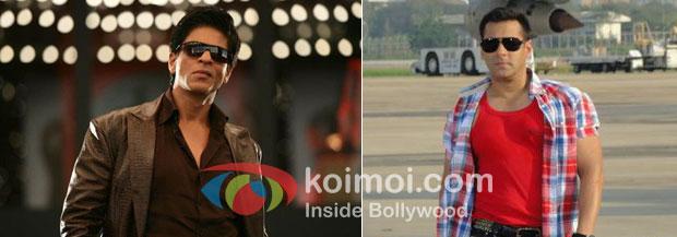 Shah Rukh Khan in Don 2 and Salman Khan in Ready