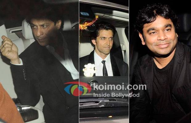 Shah Rukh Khan, Hrithik Roshan, A.R.Rahman