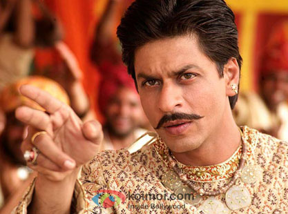 Shah Rukh Khan in still from Paheli