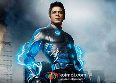 Shah Rukh Khan as G.One in Ra.One