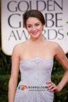 Shailene Woodley At Golden Globe Red Carpet 2012