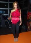 Shazahn Padamsee At Gold Gym Calendar Launch